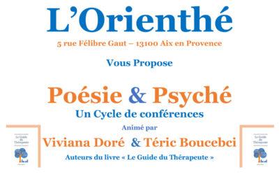 Dimanche 14 octobre 2018 – Conférence poésie et Psyché